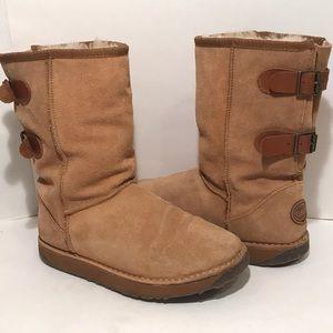 EMU Darlington Mid Calf Sheepskin Warm Fur Boots 7